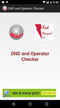 DND and Operator Checker poster