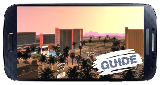 Guide pour GTA San Andreas apk screenshot