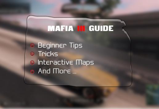 Guide & Maps Mafia 3 apk screenshot