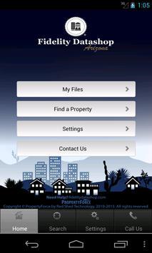 Fidelity Datashop Arizona poster