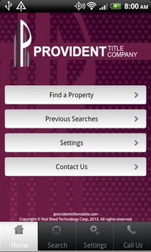 Provident Title Mobile poster