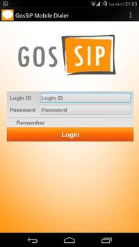 GosSIP Mobile VoIP Dialer poster
