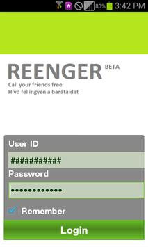REENGER poster