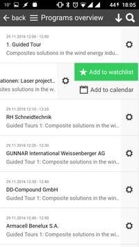 COMPOSITES EUROPE apk screenshot