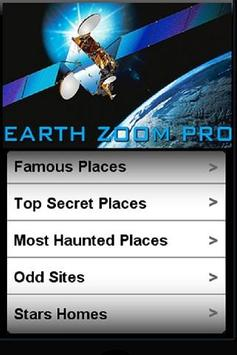 EARTH ZOOM poster