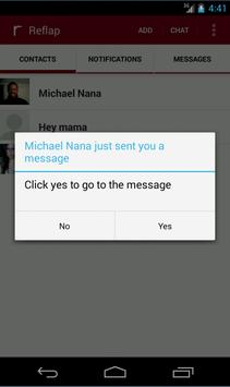 Reflap - Free Messaging apk screenshot