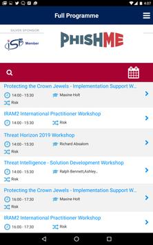 ISF Annual World Congress apk screenshot