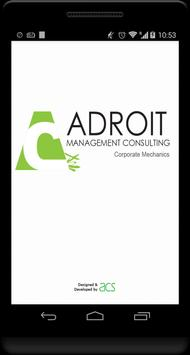Adroit Management Consulting poster