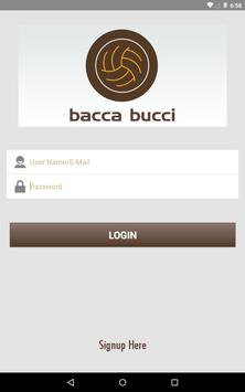 BaccaBucci App apk screenshot
