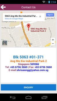 Shrisai Engineering Pte Ltd apk screenshot