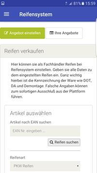 Reifensystem apk screenshot