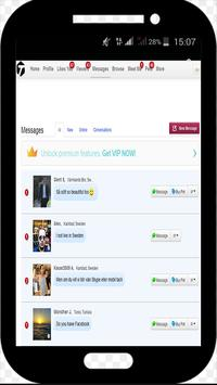 Guide Tagged Love Chat Dating apk screenshot