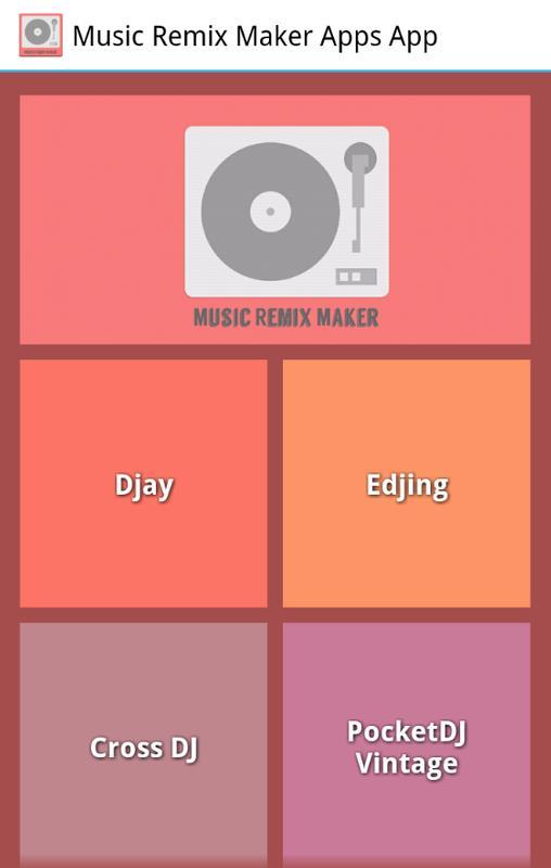 remix maker apps apk free audio app for android apkpure