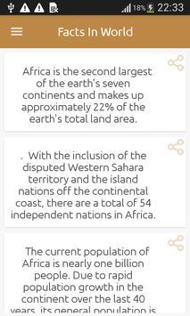 Facts in World apk screenshot