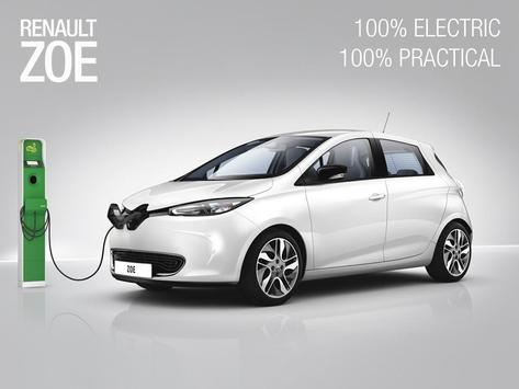 DISCOVER RENAULT ZOE Mobile poster