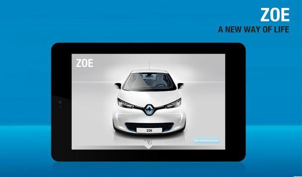 DISCOVER RENAULT ZOE Mobile apk screenshot