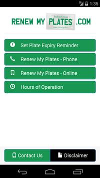 Renew My Plates poster