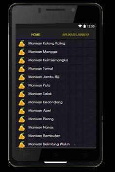 Resep Manisan apk screenshot
