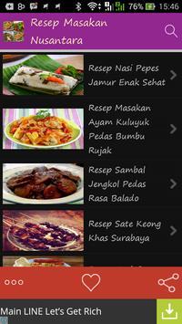 Resep Masakan Nusantara poster