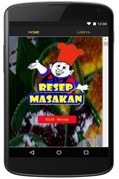 Resep Masakan Padang poster