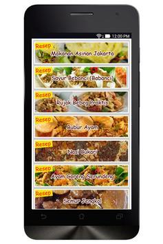 Resep Masakan Jakarta poster