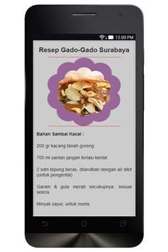 Resep Masakan Jawa Timur apk screenshot