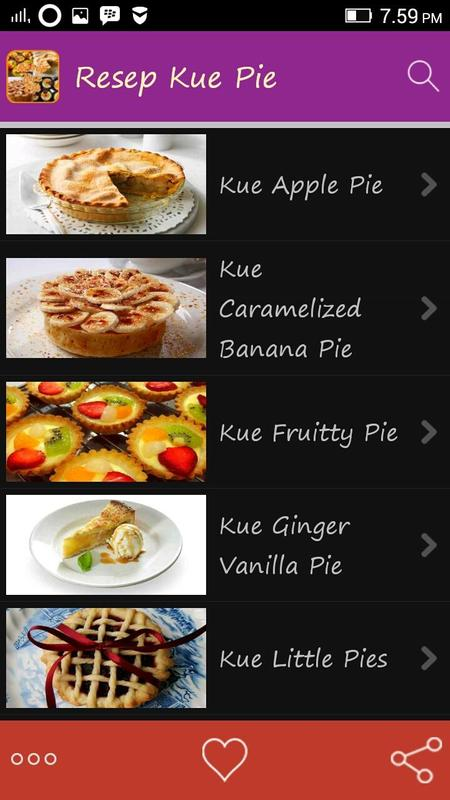 Resep Kue Pie APK Download - Free Books & Reference APP for Android ...