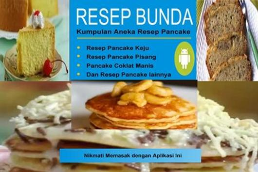 Resep Pancake poster