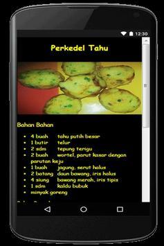 Resep Masakan Tahu apk screenshot