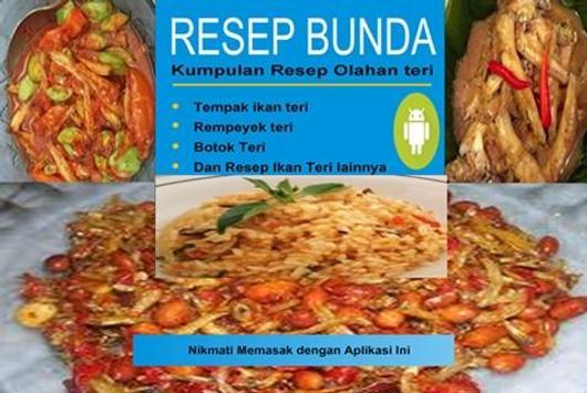 Resep Ikan teri poster