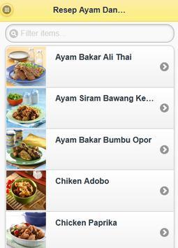 Resep Ayam Dan Bebek Spesial apk screenshot