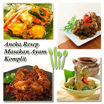 Aneka Resep Ayam Spesial apk screenshot