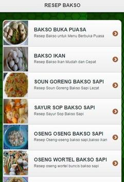 Resep Bakso apk screenshot