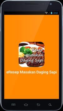 e Resep Masakan Sapi poster