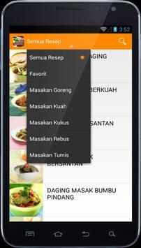 e Resep Masakan Sapi apk screenshot
