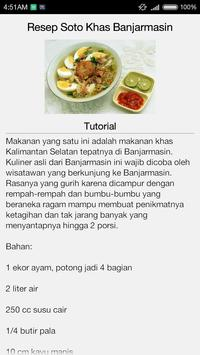 Resep Masakan Khas Kalimantan apk screenshot