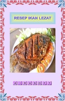 Resep Ikan Lezat poster