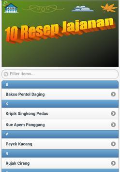 10 Resep Jajanan poster