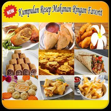 """100 Resep Makanan Ringan """"TOP"""" poster"""