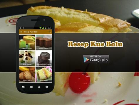 Resep Kue Bolu Pilihan apk screenshot