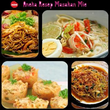 Aneka Resep Masakan Mie poster