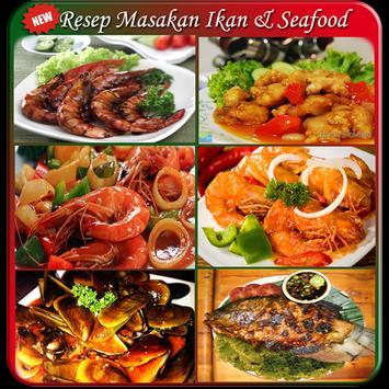 107 Resep Ikan & Seafood TOP poster