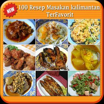 100 Resep Masakan Kalimantan poster