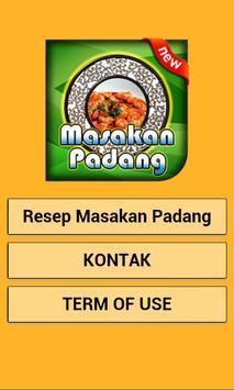 Resep Masakan Padang 2017 poster