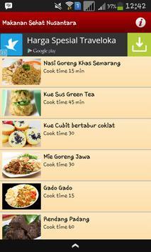 Resep Makanan Sehat Nusantara poster
