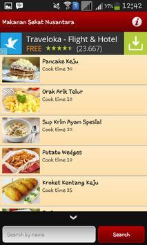 Resep Makanan Sehat Nusantara apk screenshot