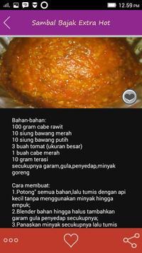 Resep Sambal Pilihan apk screenshot