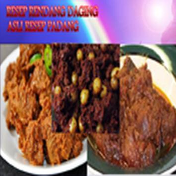 Resep rendang daging sapi asli apk screenshot