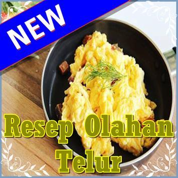 Aneka Resep Olahan Telur poster