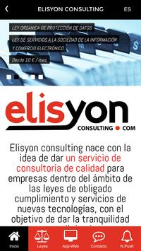 Elisyon consulting poster